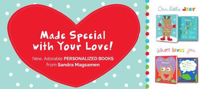 Sandra Magsamen Personalized Books