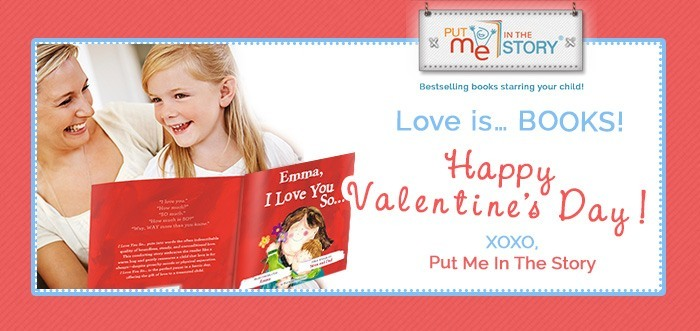 Valentine's Day Giveaway from Put Me In The Story!