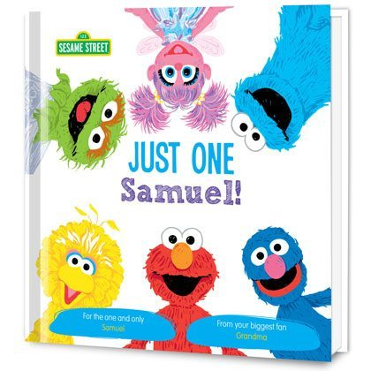 Sesame Street Just One You! Personalized Book