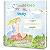 If I Could Keep You Little Personalized Book