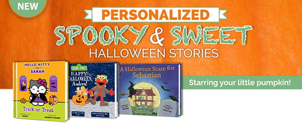 Personalized Halloween Books