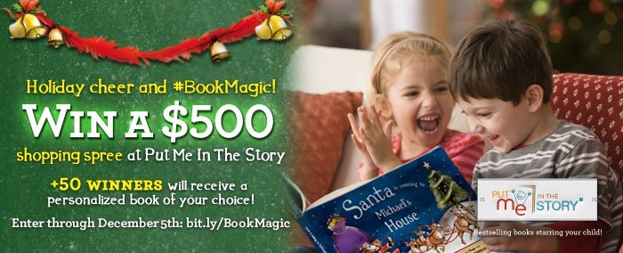 Put Me In The Story #BookMagic Holiday Giveaway