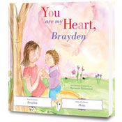 You Are My Heart Personalized Book